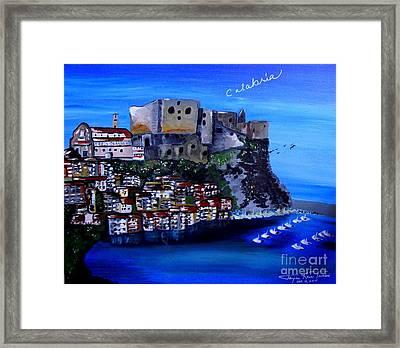 Calabria Italy Framed Print
