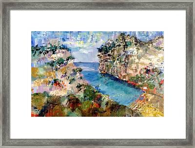 Calanque D'en Vau-1 Framed Print by Chris Irwin Walker