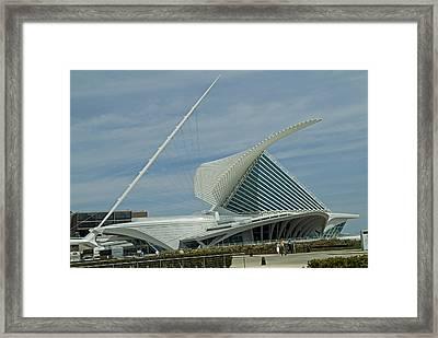 Calatrava Milwaukee Framed Print by Devinder Sangha