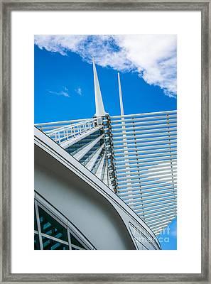Calatrava Point Framed Print