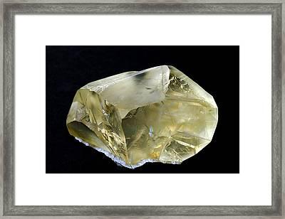 Calcite - Kazakhstan Framed Print