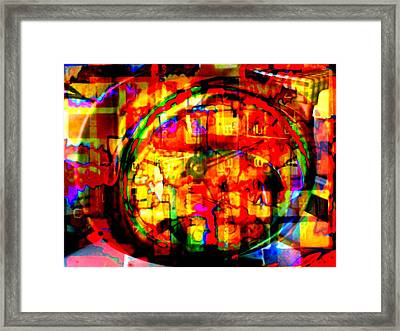 Calculate Framed Print by Kelly McManus