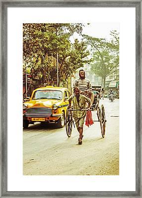 Calcutta Framed Print by Vandana Dev