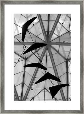 Calder's Mobile I Framed Print