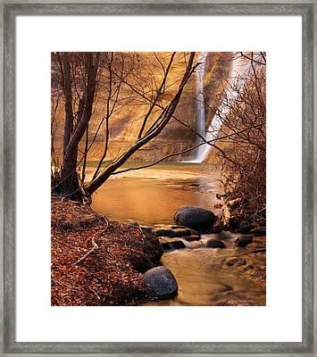Calf Creek Falls 3 Framed Print