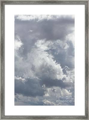 Calgary Clouds 1 Framed Print