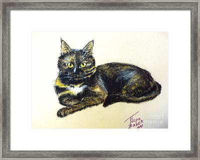Fifi Girl Framed Print