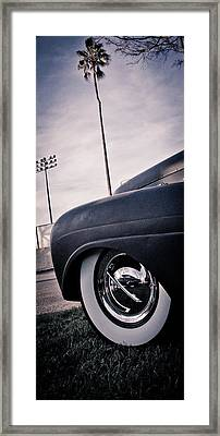 Cali Ride Framed Print