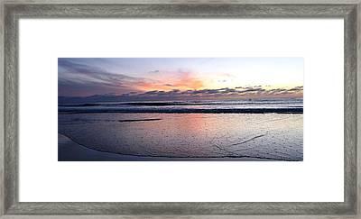 Cali Sunset Framed Print