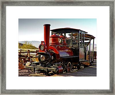Calico And Odessa Framed Print by Carol Hyman