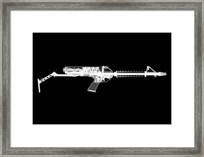 Calico M100 Reversed Framed Print by Ray Gunz