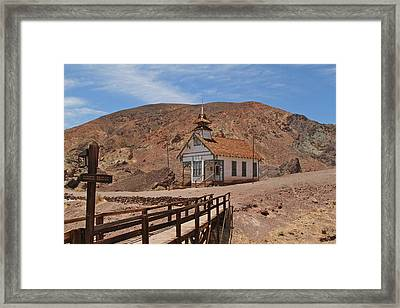 Calico School Framed Print by Ellen and Udo Klinkel