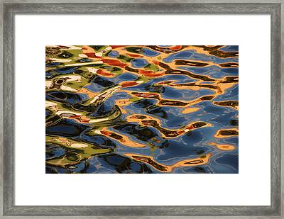 Framed Print featuring the photograph Calico Waters by Lorenzo Cassina