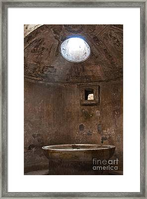 Calidarium Framed Print by Marion Galt