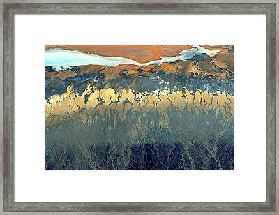 California Aerial Framed Print