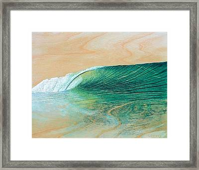 California Afternoon Framed Print by Nathan Ledyard