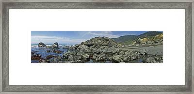 California Beach 2 Framed Print