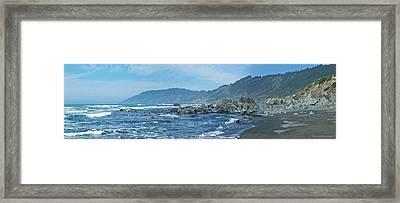 California Beaches 3 Framed Print