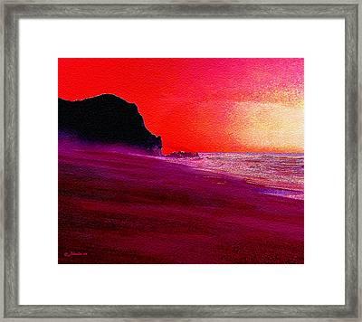 California Beaches Framed Print