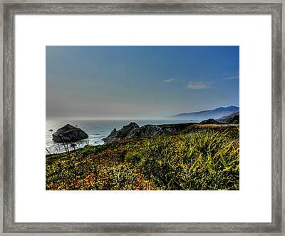 California - Big Sur 003 Framed Print