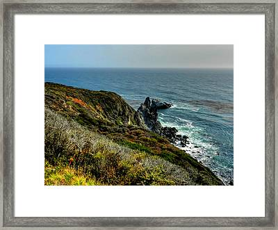 California - Big Sur 005 Framed Print by Lance Vaughn