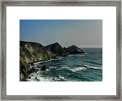 California - Big Sur 010 Framed Print by Lance Vaughn