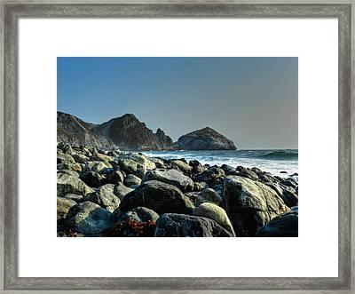 California - Big Sur 012 Framed Print by Lance Vaughn