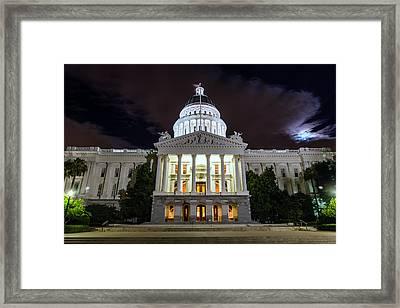 California Capitol Framed Print