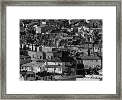 California Casbah Framed Print