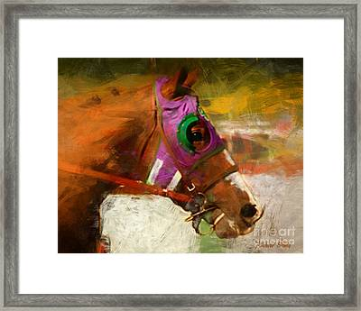 California Chrome Framed Print
