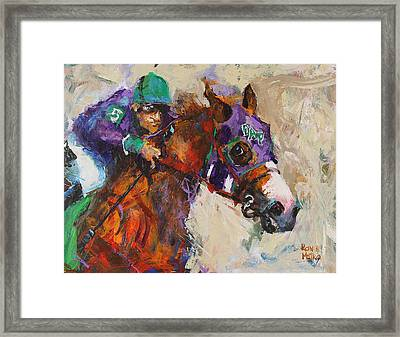 California Chrome Framed Print by Ron and Metro