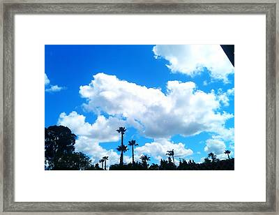 California Clouds Framed Print by Susan Mumma