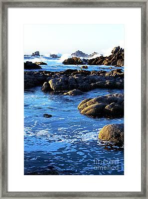 Framed Print featuring the photograph California Coast 4 by Theresa Ramos-DuVon
