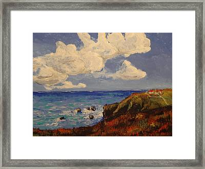 California Coast Framed Print by Paul Benson