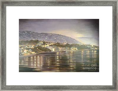 California Coastal Framed Print