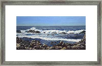California Coastline Framed Print