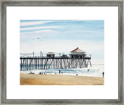 California Dreamin Framed Print