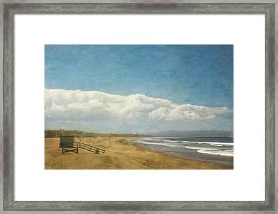 California Dreaming Framed Print by Kim Hojnacki