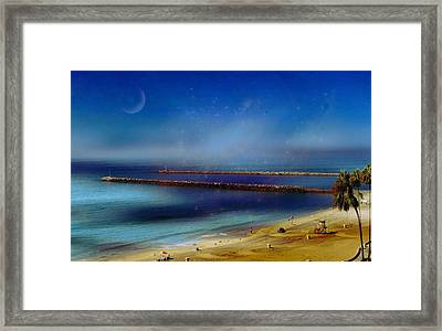 California Dreaming Framed Print by Tammy Espino