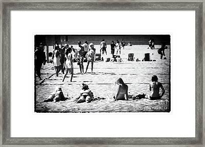 California Girls Framed Print by John Rizzuto