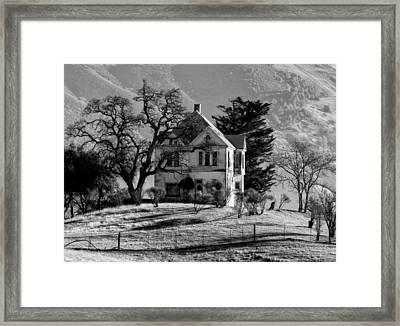 California Gothic Framed Print