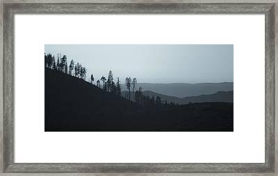 California Gray Skies Framed Print