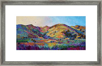 California Greens II Framed Print by Erin Hanson