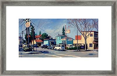 California Light Framed Print
