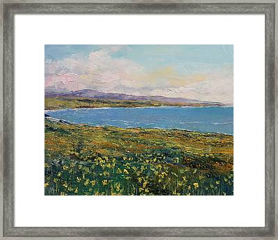 California Poppies Framed Print by Michael Creese