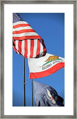 California Republic - Mike Hope Framed Print