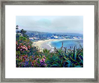 California Riviera Framed Print by Elaine Plesser