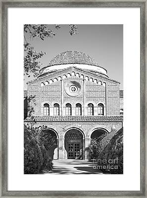 California State University Chico - Kendall Hall Framed Print by University Icons
