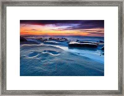 California Sunset Framed Print