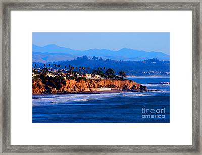 California Sunset - Pismo Beach Framed Print by Tap On Photo